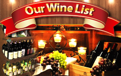 View Our Wines List